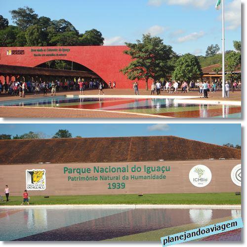 Parque Nacional do Iguaçu (entrada lado Brasileiro)
