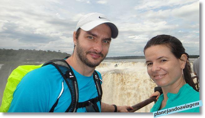 Paseo Garganta del Diablo - lado Argentino das Cataratas do Iguaçu