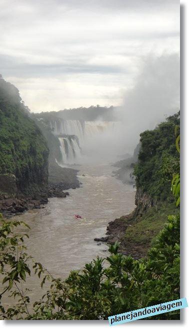 Paseo Gran Aventura, Lado Brasileiro e Argentino