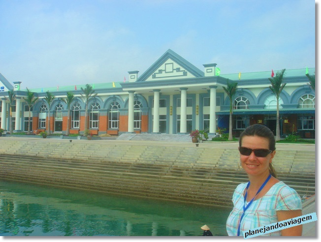 No porto da Paradise Cruise