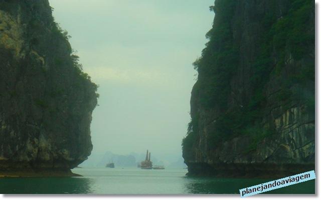 05. Navegando com o Paradise Cruise em Halong Bay