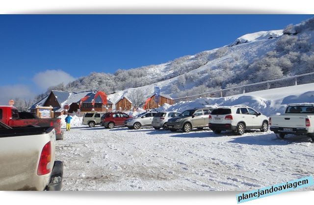 Estacionamento em Nevados de Chillan