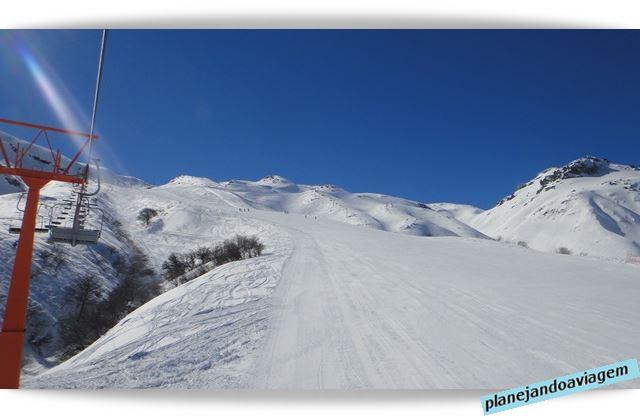 Pista em Nevados de Chillan - Chile