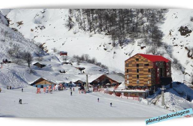 Resort Alto Nevados e Restaurante em Nevados de Chillan - Chile