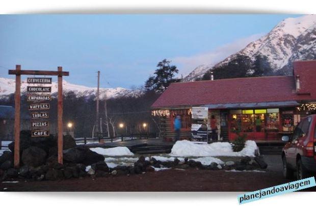 Restaurante em Nevados de Chillan - Chile