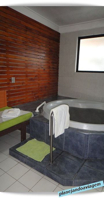 SPA no Hotel Nevados de Chillan - Chile