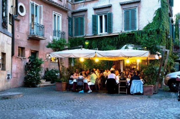 Restaurante na Italia (foto: romaatavola.it)