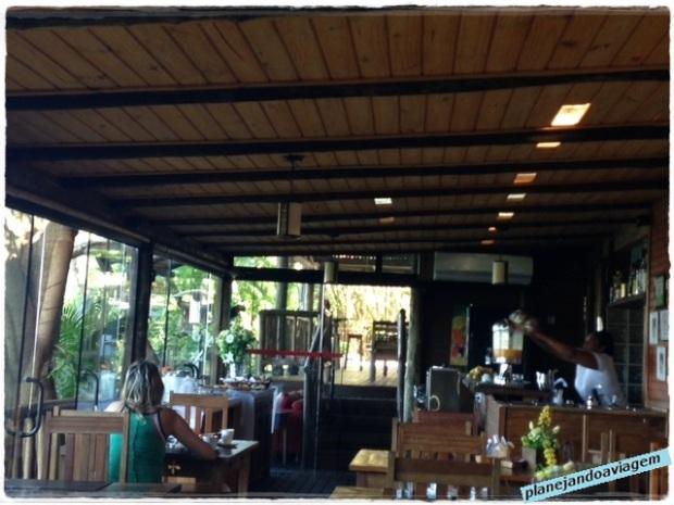 Ilha de Toque Toque Boutique Hotel - Área Café da Manhã e Restaurante