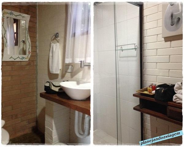 Suite Alcatrazes - Banheiro
