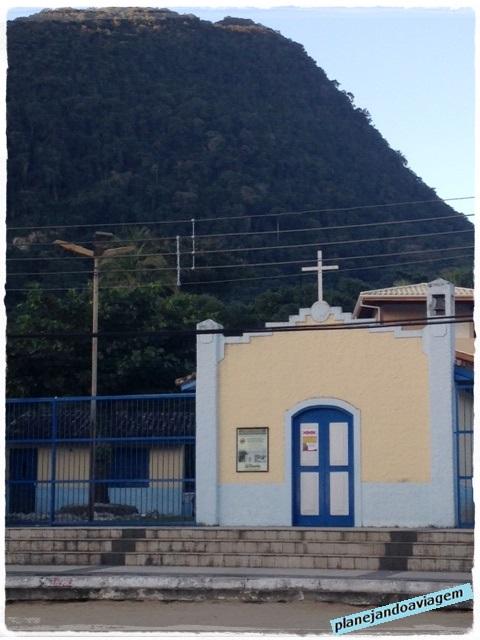Praia de Toque Toque Grande - Igreja caiçara