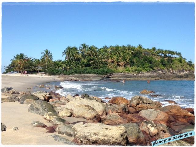 Praia de Calhetas - lado direito