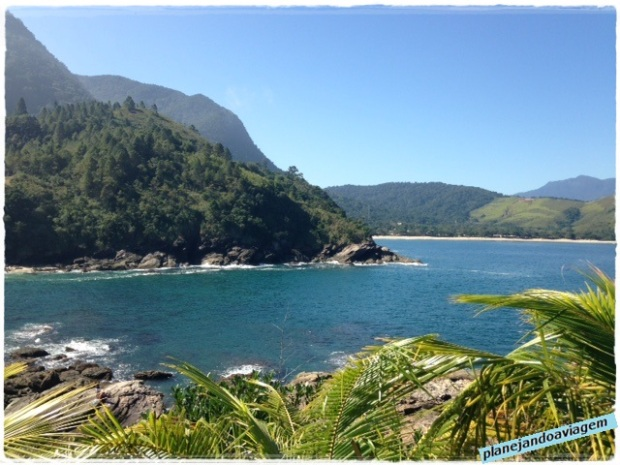 Praia de Calhetas - lado equerdo (vista Toque Toque Grande