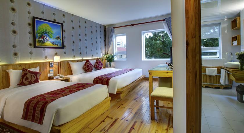 Viet View Hotel and Spa - Hotel em Hanoi (detalhe ofuro)