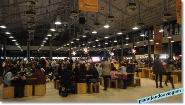 Mercado da Ribeira - Mesas