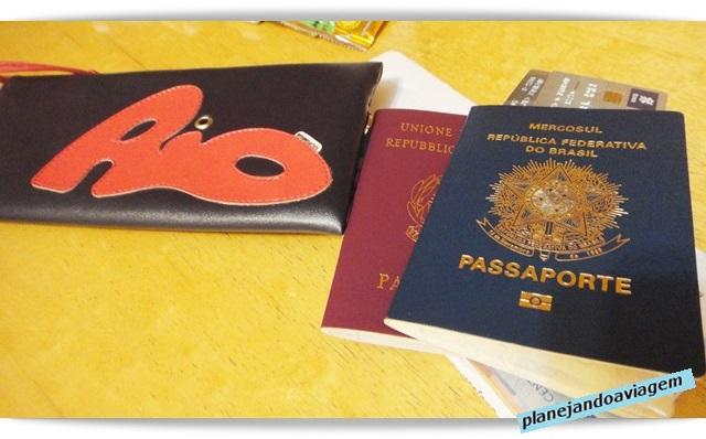 O que levar no avião: documentos
