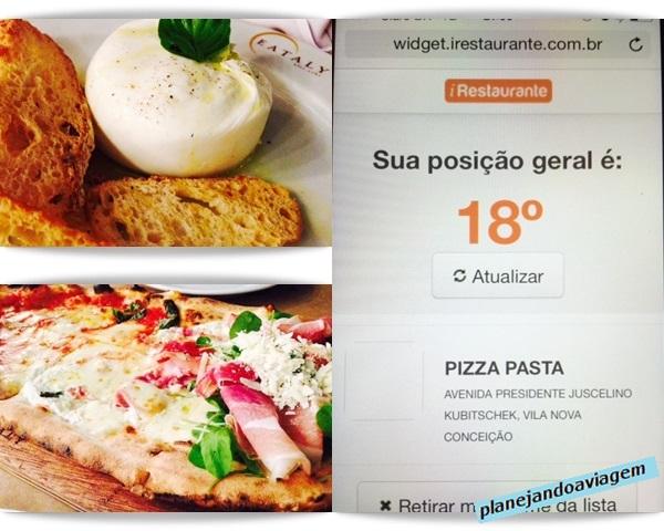 EATALY São Paulo - Buratta, Pizza (Fru Fru) e espera La Pasta e La Pizza