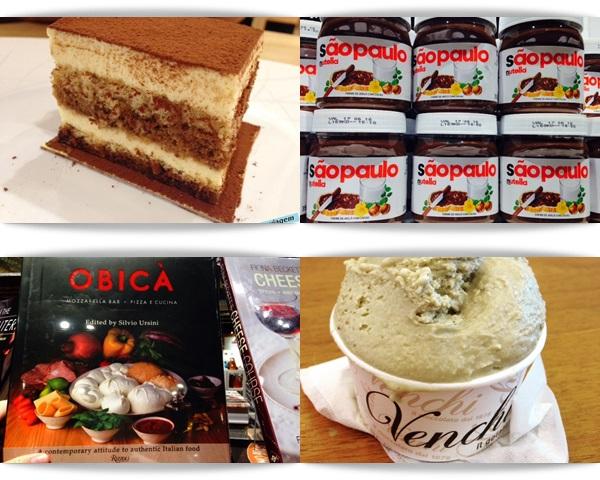 EATALY São Paulo - Nutella, Venchi, Tiramisu e Obika