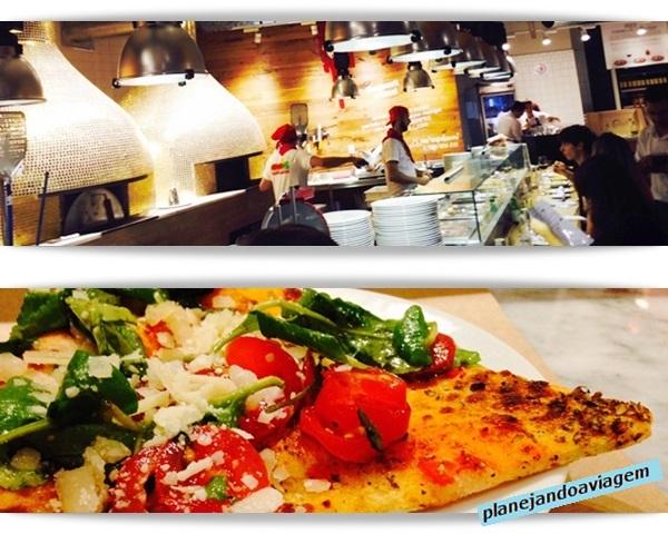 EATALY São Paulo - Pizzaria e Pizza na Rossopomodoro
