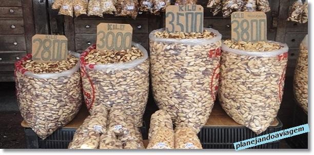 Belem - Mercado Ver o peso - Castanhas