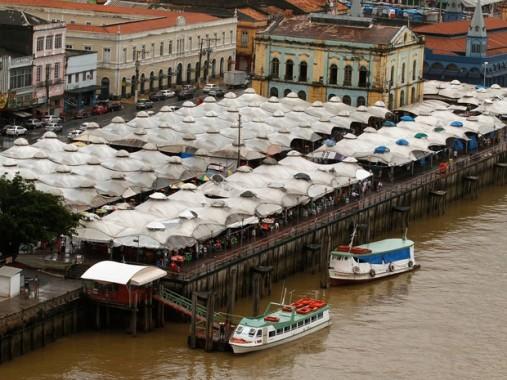 Portos de onde saem os barcos para Barcarena e demais localidades (foto: portaldoxingu.com.br)