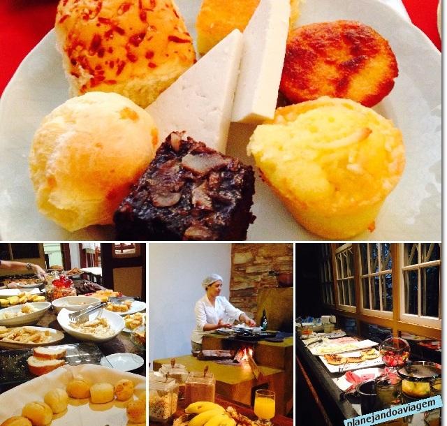 Café da Manhã no Hotel Solar do Rosario