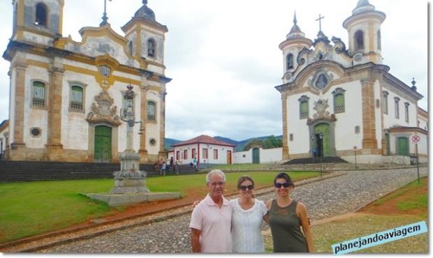 Igrejas em Mariana