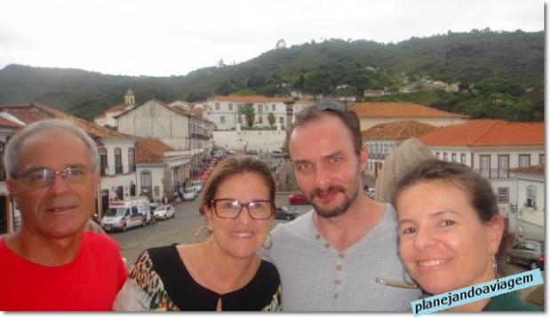 Nós em Ouro Preto