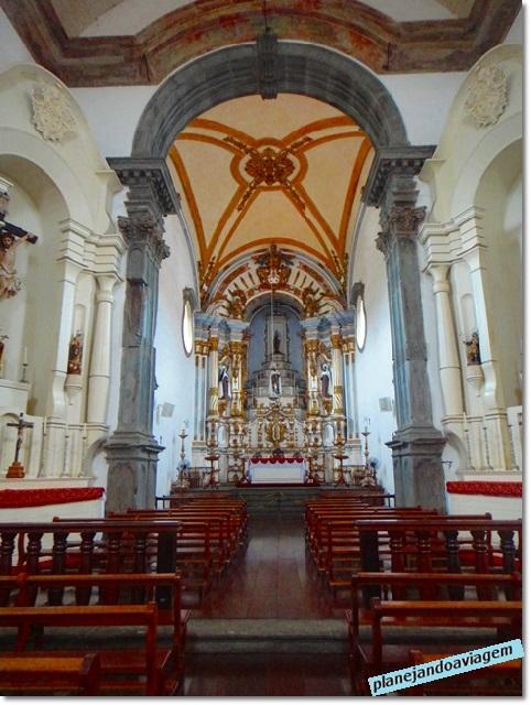 Interior Igreja Nossa Senhora dp Carmo