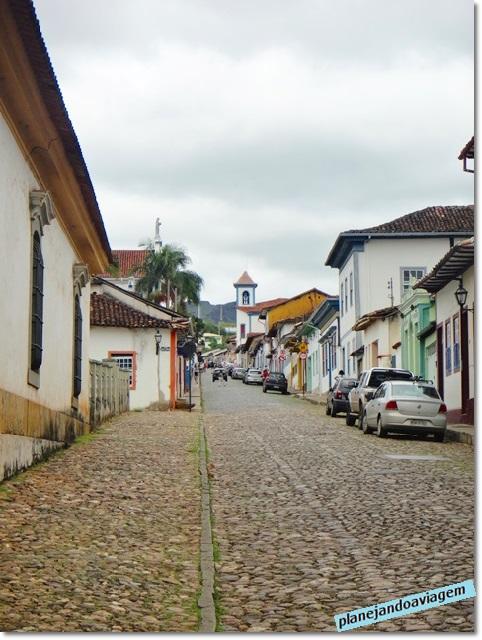 Rua em Mariana
