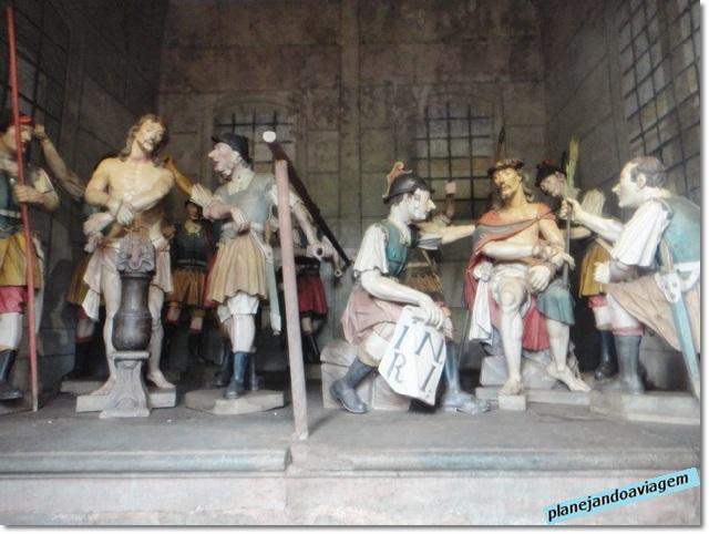 Obras Via Sacra Aleijadinha - Capela