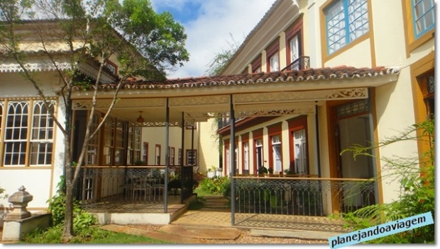 Jardim interno - Hotel Solar do Rosario