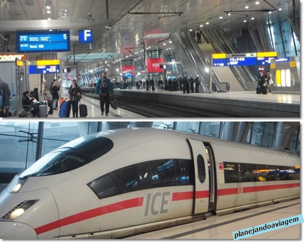 Estação Ferroviaria Aeroporto Frankfurt