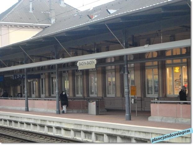 Estação Ferroviaria Baden Baden