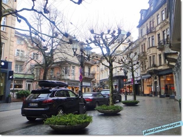 Rua de compras no centro da cidade