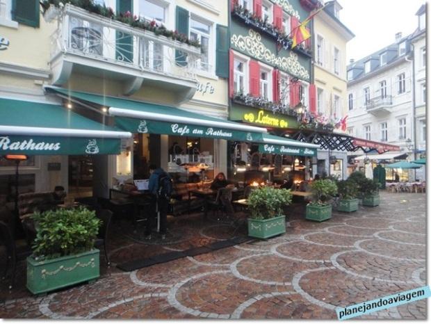 Restaurantes no centro da cidade, prox. acesso aos SPAs