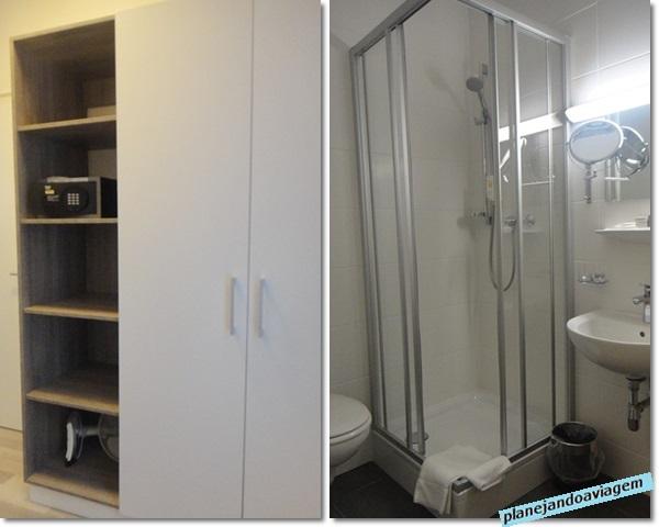 Armário e Banheiro