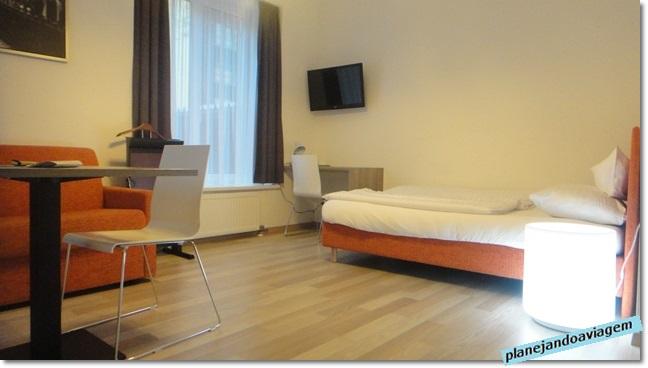 Ambiente integrado - quarto
