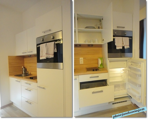 Ambiente integrado - cozinha