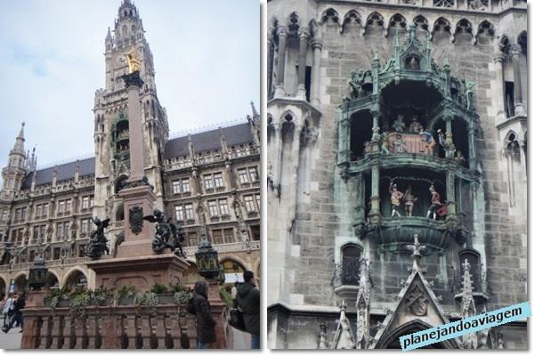 Neues Rathaus - Detalhes