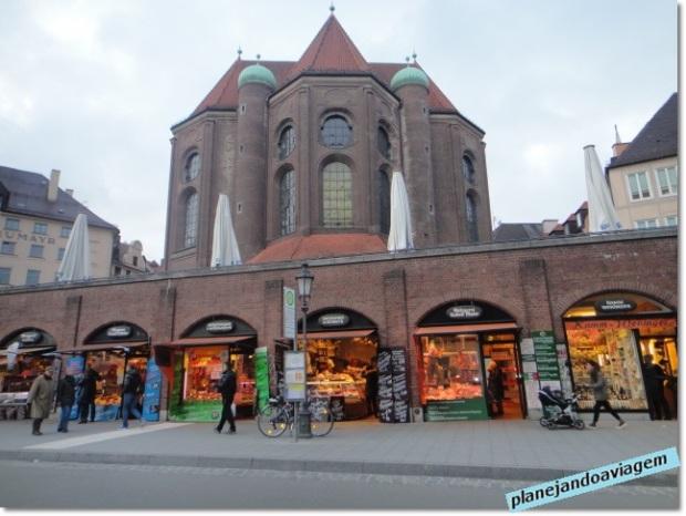 Viktualienmarkt - lojas