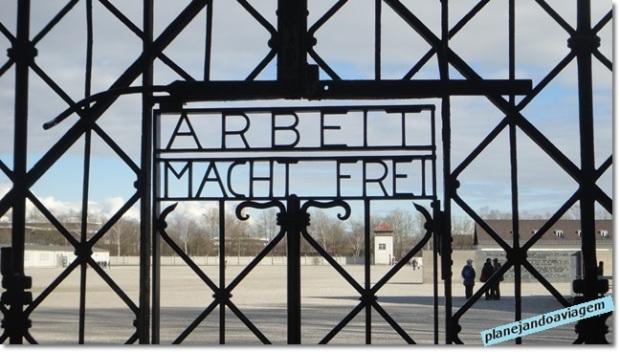 Dachau - Portão de Acesso