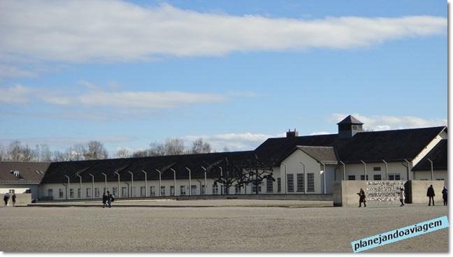 Dachau - instalações e Museu