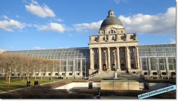 Bayerische Staatskanzlei, sede do governo do estado