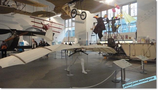 Museu de Ciências - história da aviação