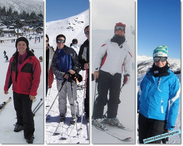 Roupas para esqui - evolução