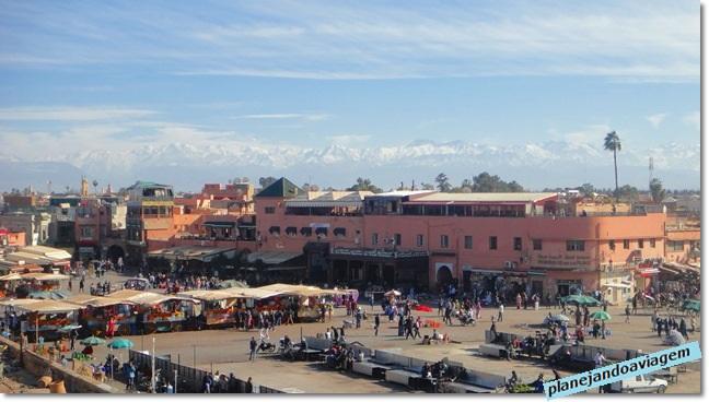 Marrakesh - Praça Jemaa El-Fna