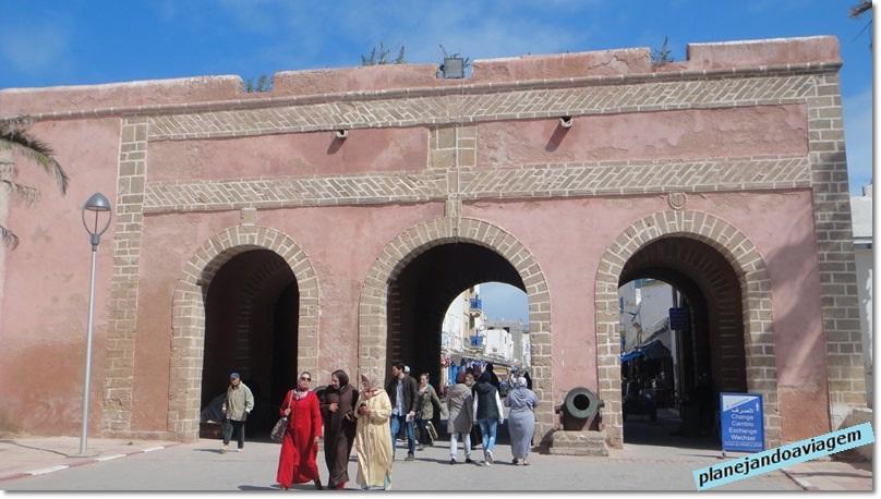 Uma das portas de entrada da Medina