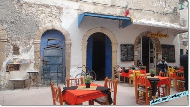 Restaurantes em Essaouira