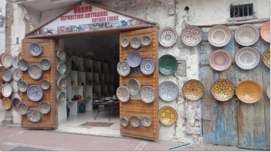 Artesanato em Essaouira