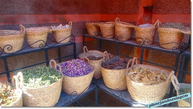 Essências e temperos marroquinos Medina